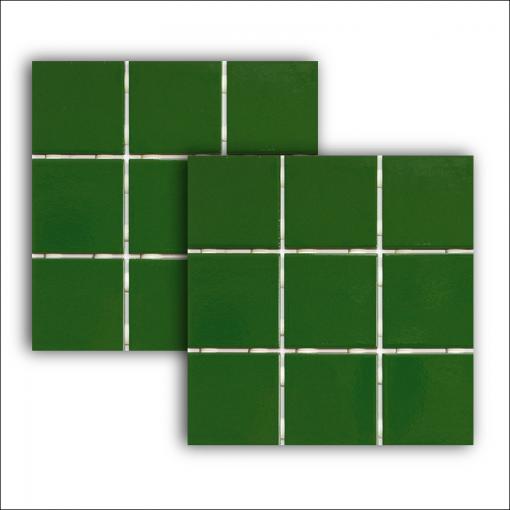 Pastilha Verde 1060 10x10cm Extra Strufaldi