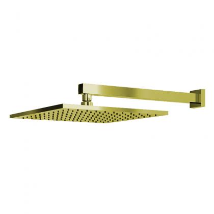 Chuveiro Articulado Parede Metal Dourado 3000 1/2 DV640 Linha Eros 640 Fani