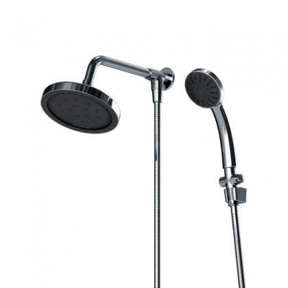 Chuveiro Articulado Parede Metal Cromado 3000 1/2 C550 Linha Mix Ligth 550 Fani