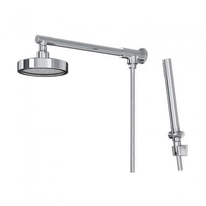 Chuveiro Articulado Com Desviador Metal Cromado 3300 1/2 C501 Linha Mix Plus 501 Fani
