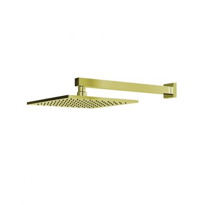 Chuveiro Articulado Parede Metal Dourado 3000 1/2 DV400 Linha Platina 400 Fani