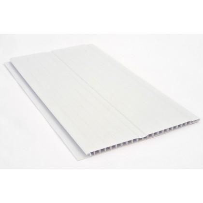 Forro PVC Branco 7 700x20x0.8 Quimiplast