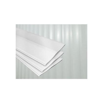 Forro PVC Branco Brilho 600x20x0.8 Plasforro