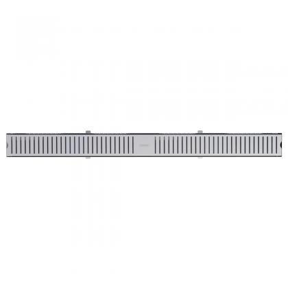 Ralo Slim em Aço Inox 100 x 7 cm 94535110 Tramontina