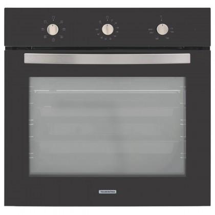 Forno Elétrico de Embutir New Glass Cook em Vidro Temperado Preto 7 Funções 71 L 95867220 Tramontina