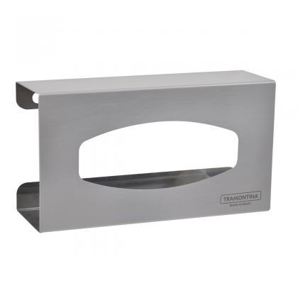 Suporte de parede em aço inox para caixas de luvas descartáveis 94532036 Tramontina