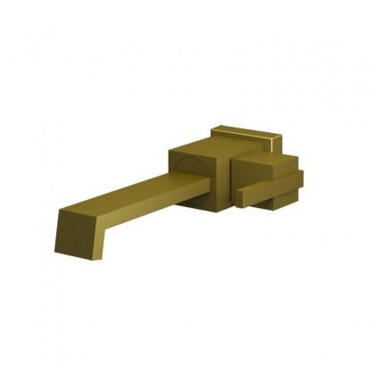 Torneira Para Lavatorio Parede Dourado 1199 1/2 DV400 Linha Platina 400 Fani