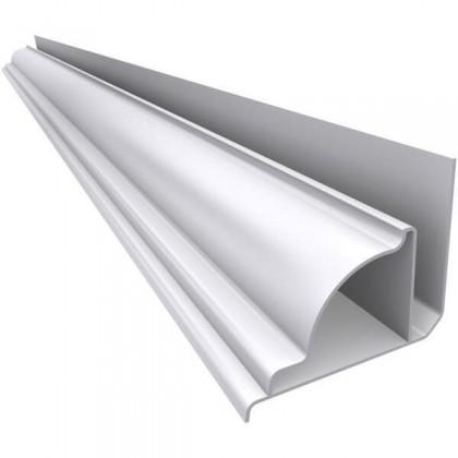 Rodaforro Sanquinha PVC Branco 6 Metros Quimiplast