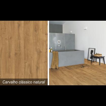 Piso Laminado Impressive Carvalho Clássico Natural - Quick-Step - M²