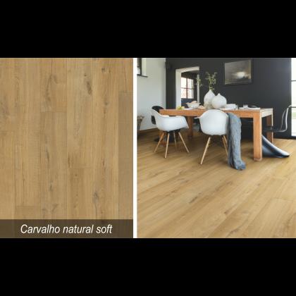 Piso Laminado Impressive Carvalho Natural Soft - Quick-Step - M²