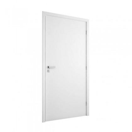 Porta Pronta Melaminico 215x74cm Branca Esquerda MGM